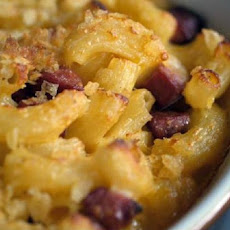 Macaroni and Cheese with Potato Chip Crust