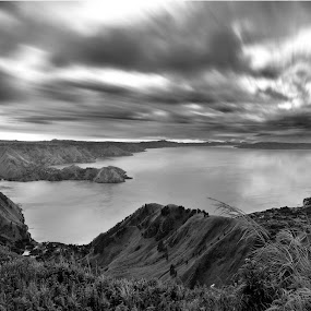 Lake TOBA by Kwok Sioe Djoen - Black & White Landscapes