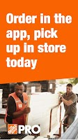 Screenshot of The Home Depot Pro App