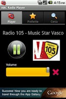 Screenshot of ABC Radio Player
