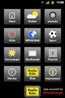 Screenshot of Radio Köln