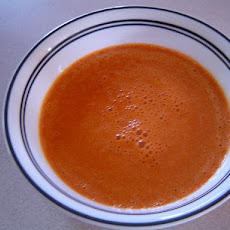 Raw Blended Sweet Potato Soup