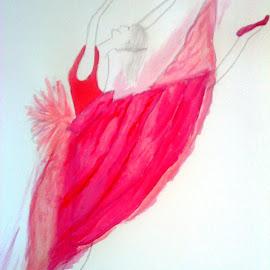 Ah ballet! by Shelina Khimji - Drawing All Drawing