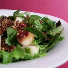 Apple Pecan Salad With Cranberry Vinaigrette
