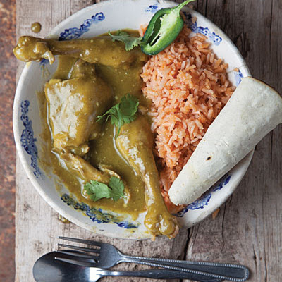 Mole Verde Zacatecano (Zacatecas-Style Green Mole With Chicken)