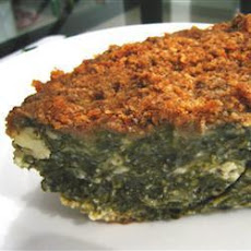 Spinach and Cheese Bake