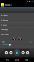 Screenshot of Quran mp3 - Mohammad Attablawi