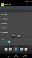 Screenshot of Quran mp3 - Mohammad Attablawi