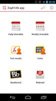 Screenshot of Zuyd Info App