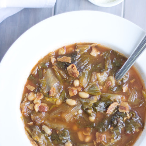 Gluten Free Escarole and Bean Soup