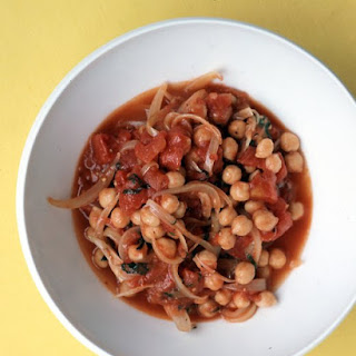 Chickpeas and Tomatoes