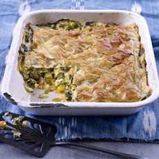 Leek & Goat's Cheese Pie