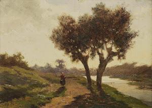 RIJKS: Paul Joseph Constantin Gabriël: painting 1867