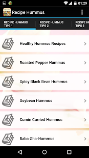Recipe Hummus - screenshot