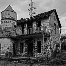 Old by Mario Denić - Buildings & Architecture Decaying & Abandoned ( old, building, black and white, object, decay,  )