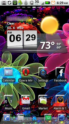 Colorful Flowers GO LAUNCHER
