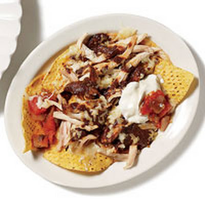 Corn and Poblano Nachos