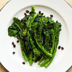 Broccoli Rabe with Currants and Lemon Vinaigrette