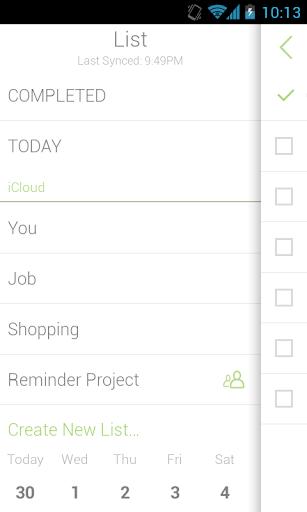 Reminder For iCloud/iOS/iPhone - screenshot