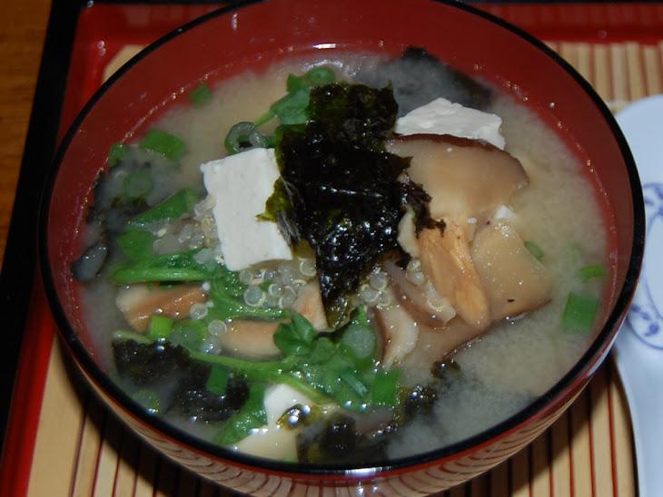 ... mushroom miso soup steamy kitchen recipes tofu and mushroom miso soup
