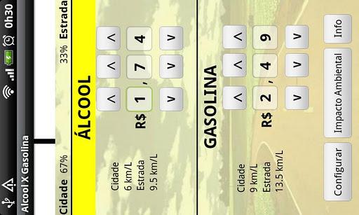 Alcool X Gasolina Demo