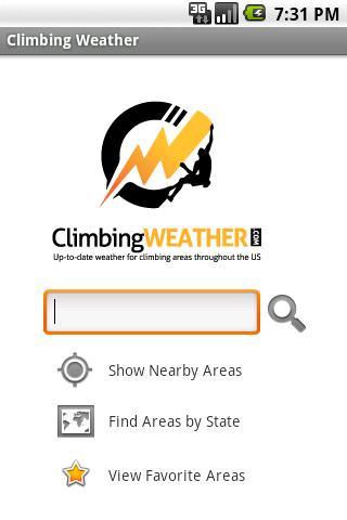 Climbing Weather