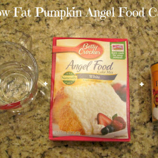 Low-Fat Pumpkin Cake