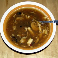 Mexican Chile and Mushroom Soup