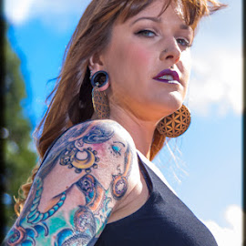 Tattoo Artistry by Tinker's Realm - People Body Art/Tattoos ( model, tattoos, beautiful, ink, person, people, tattoo )