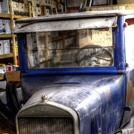 Old dirty Ford by Calvin Morgan - Transportation Automobiles ( hdr, automobile, ford, nikon d7000, antique )