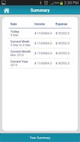 Screenshot of Money Tracker Free - Expense