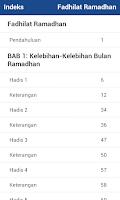 Screenshot of Fadhilat Ramadhan (Melayu)