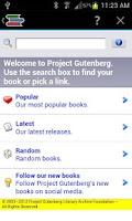 Screenshot of Free eBooks - Classics
