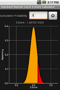 Gaussian (Normal) Distribution - screenshot