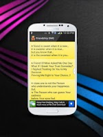 Screenshot of FRIEND QUOTES AND SMS MESSAGES