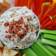 Cheddar Bacon Ranch Dip (aka Memorial Day Dip)