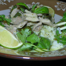 Jack's Thai Green Curry With Coconut Rice