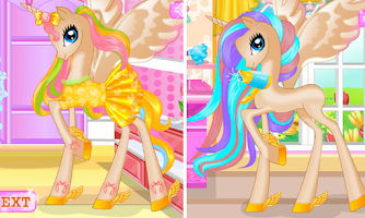Screenshot of Pony Princess Birthday Party