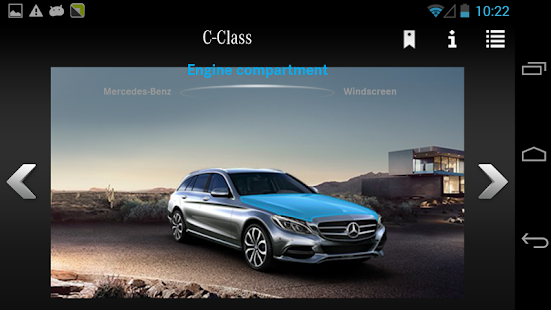 App mercedes benz guides usa apk for windows phone for Mercedes benz app for android