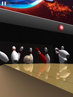 Screenshot of Galaxy Bowling 3D
