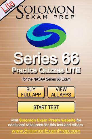 Series 66 Practice Exams Lite