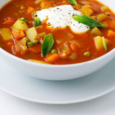 Vegetable Mulligatawny Soup