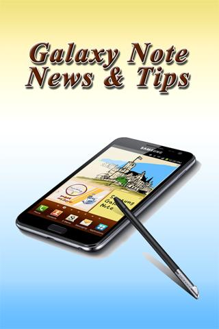 Galaxy Note News Tips