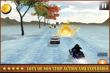 Ice Frozen Snow Mobile Racing - screenshot
