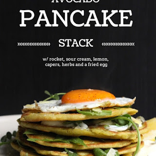 Avocado Pancakes with Lemon, Herbs, and Sour Cream