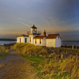 West Point Lighthouse, possible location for Sunday shoot. (Weather dependent). Let me know if you are interested in joining. by Gabi Fulcher - Buildings & Architecture Other Exteriors