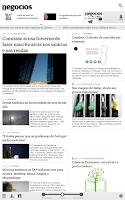 Screenshot of Negócios