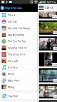 Screenshot of Clip Xôn Xao