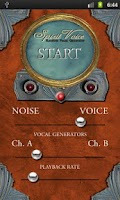 Screenshot of Spirit Voice 2.0 SW Ghost Box