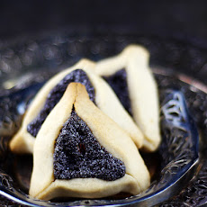 Gluten-Free Vegan Hamantaschen Cookies with Poppy Seed Filling {Refined Sugar-Free}